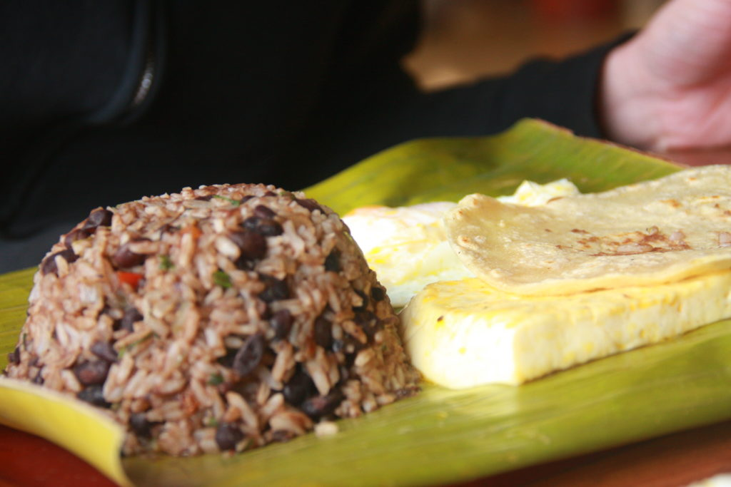 Gallo Pinto dish