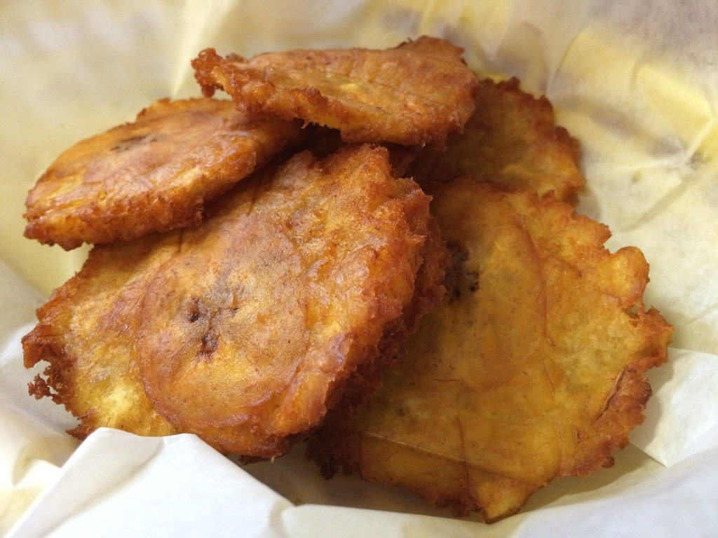 Patacones dish
