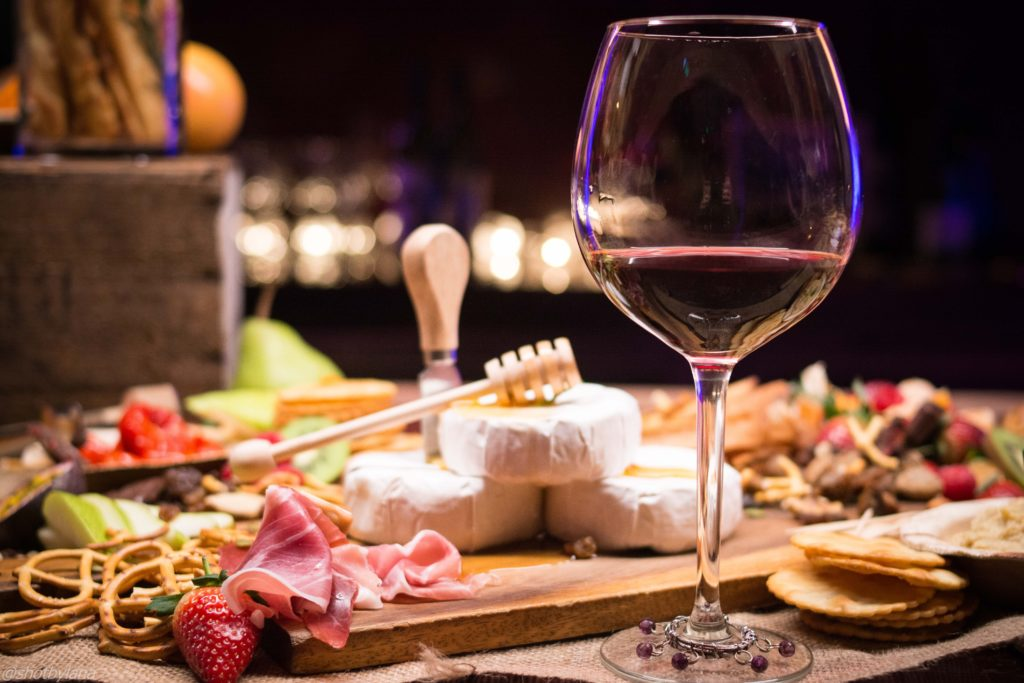 Wine pairing on a culinary cruise line