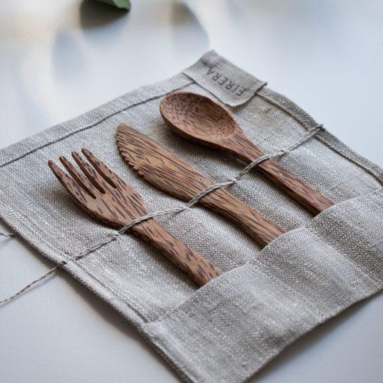 Sustainable travel tip: bring reusable utensils