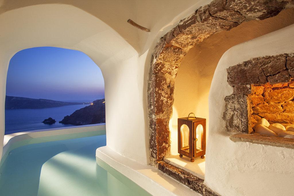 Luxurious hotel in Greece