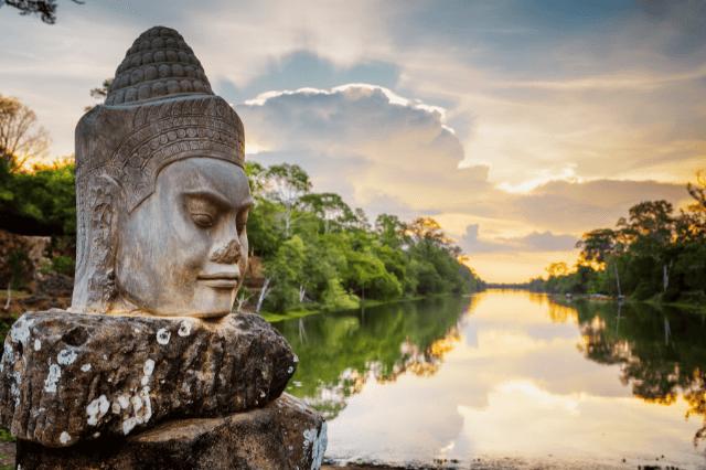 Cambodia Statue