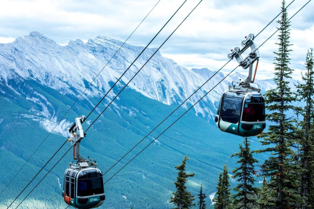 Canadian Rockies gondola