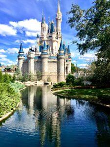 Cinderella's castle Disneyworld open during 2020