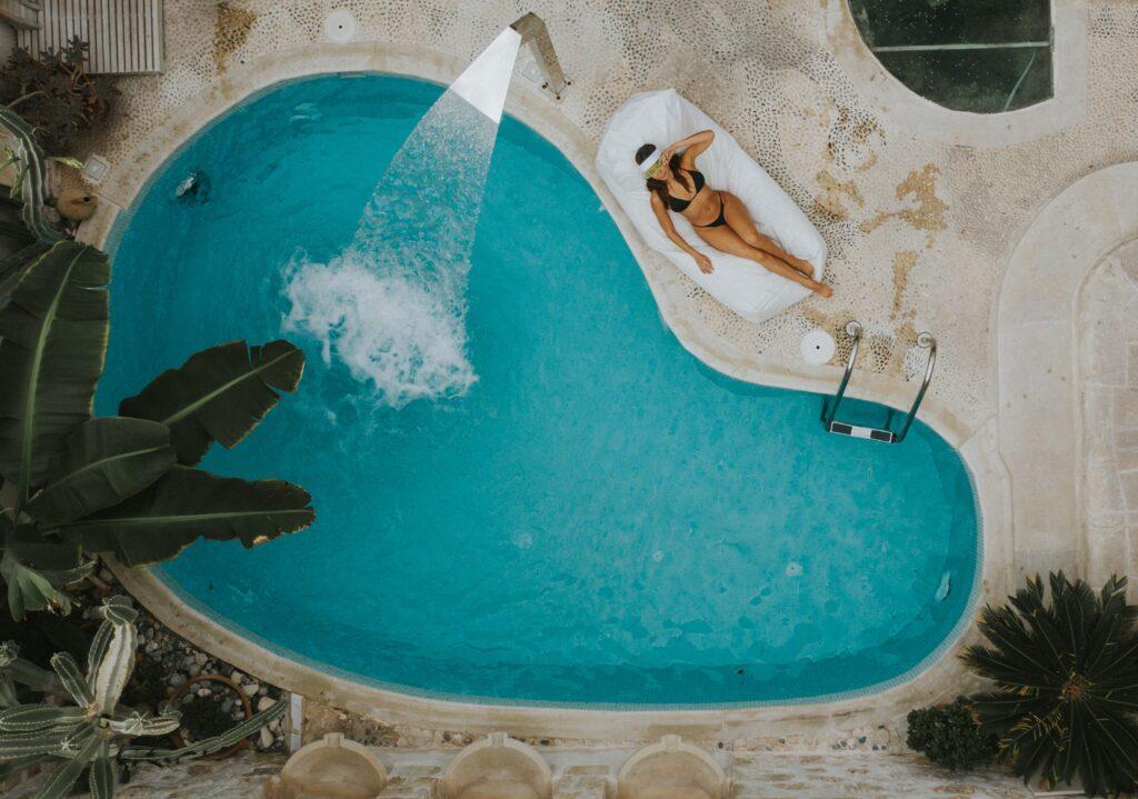 Greece pool