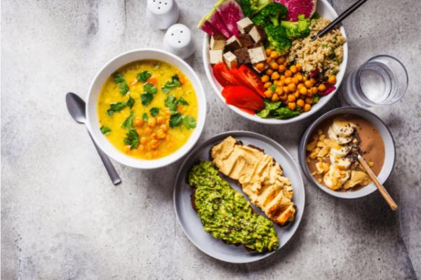 vegan inspired food